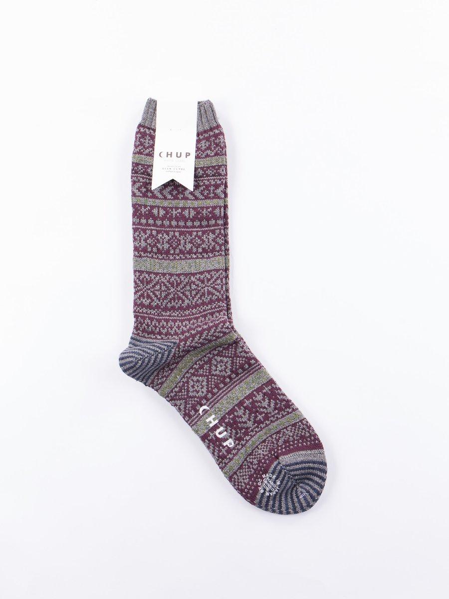 Purple Kogin Socks