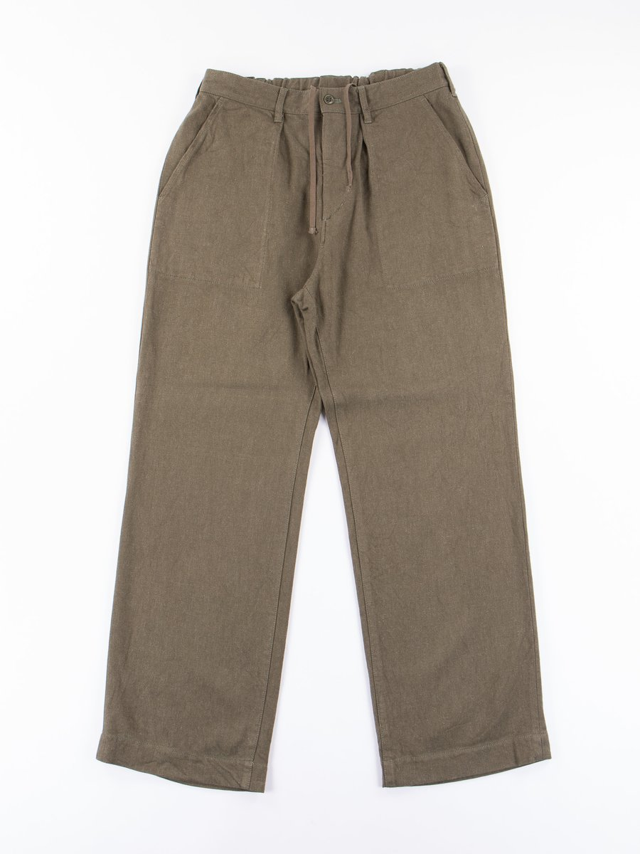 Olive Relaxed Fatigue Pant