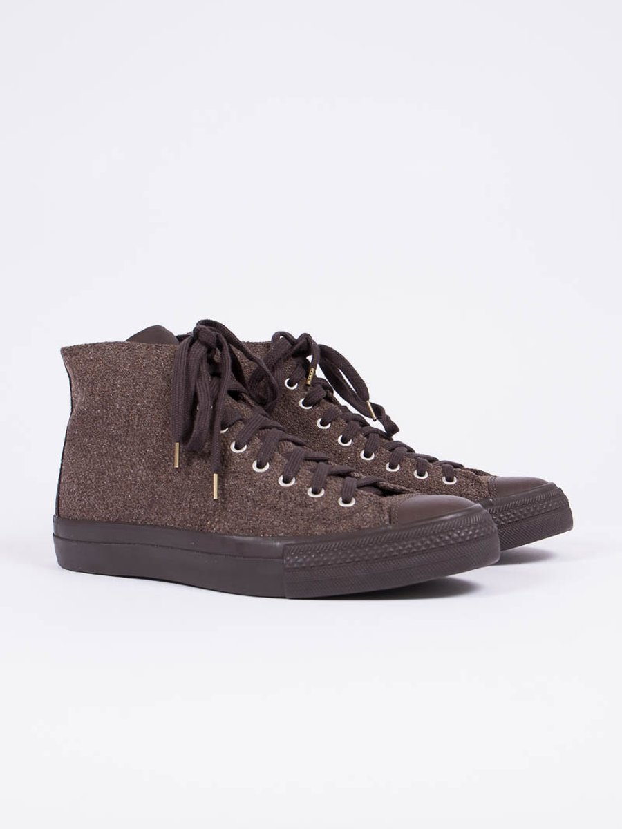 Brown Mil Twill Skayway Hi
