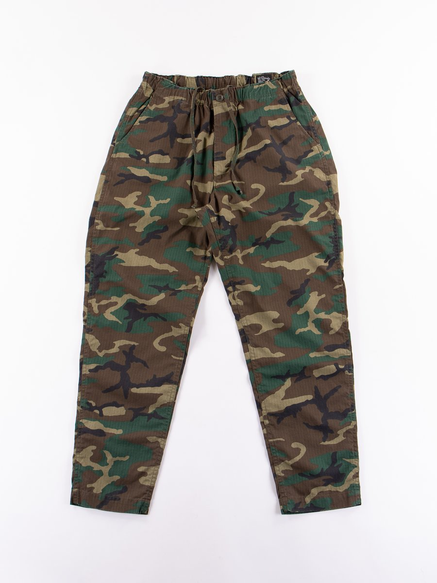 Woodland Camo Ripstop New Yorker Pant