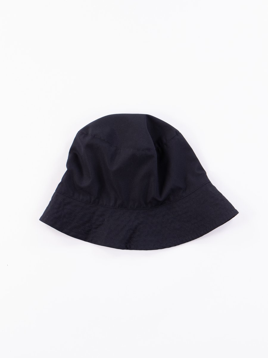 Dark Navy PC Poplin Bucket Hat