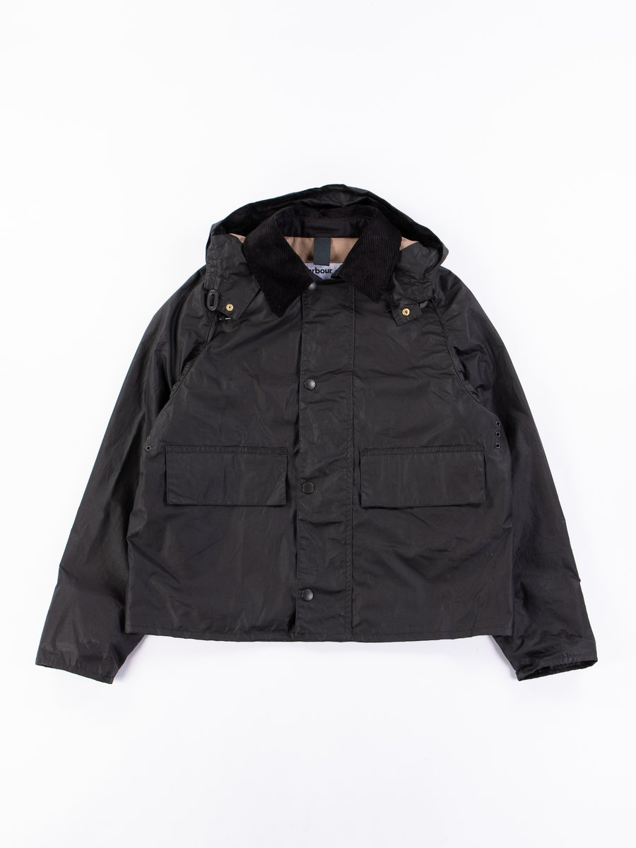 Black Spey Wax Jacket