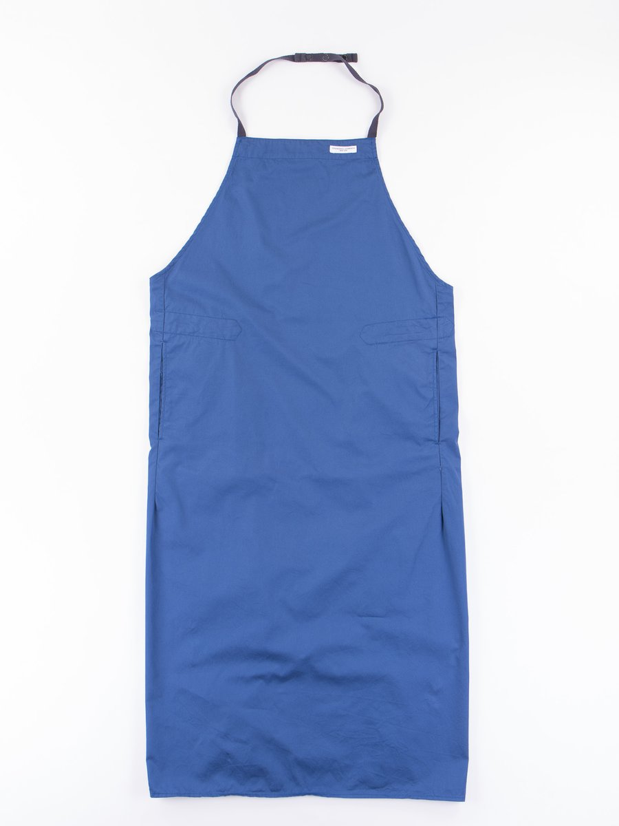 Dark Blue 5oz Twill New Long Apron