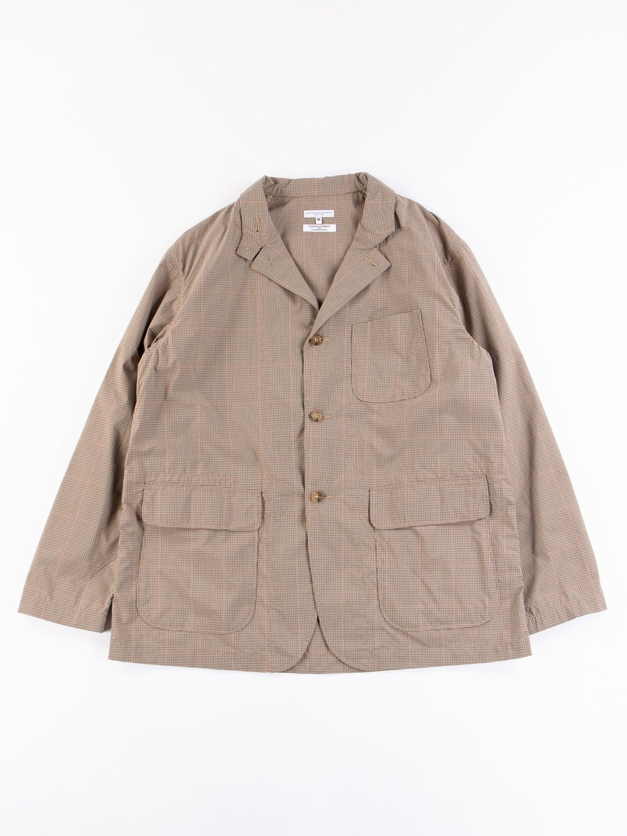 Khaki Nyco Mini Tattersall Loiter Jacket