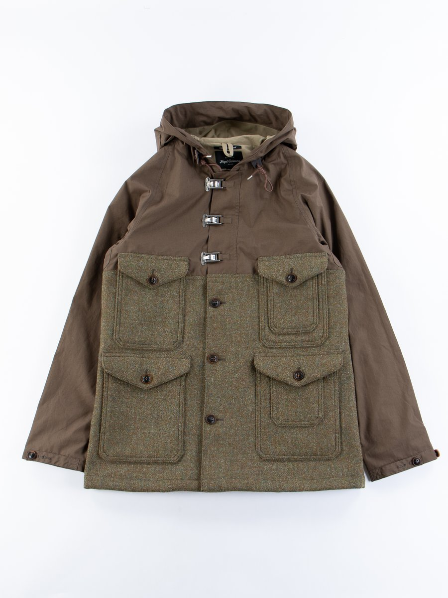 Army Green Classic Cameraman Jacket