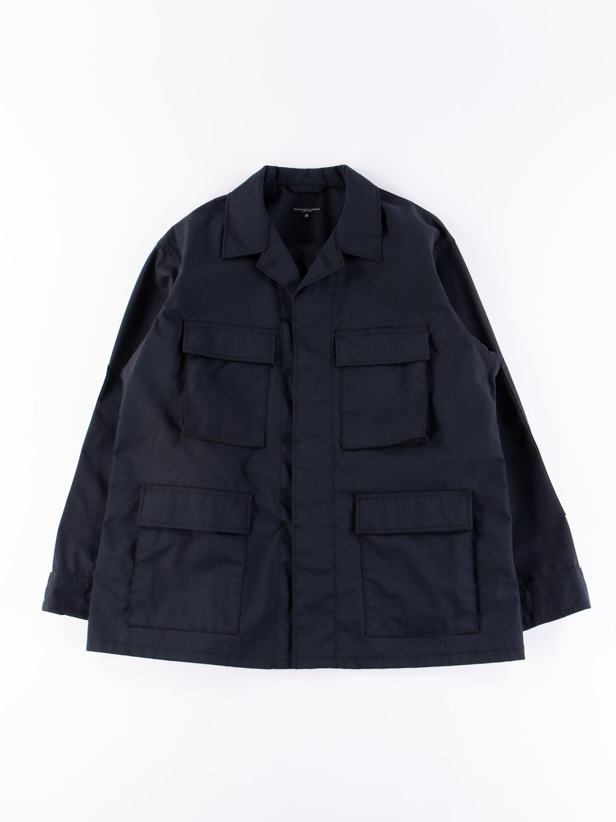 Dark Navy Nyco Ripstop BDU Jacket