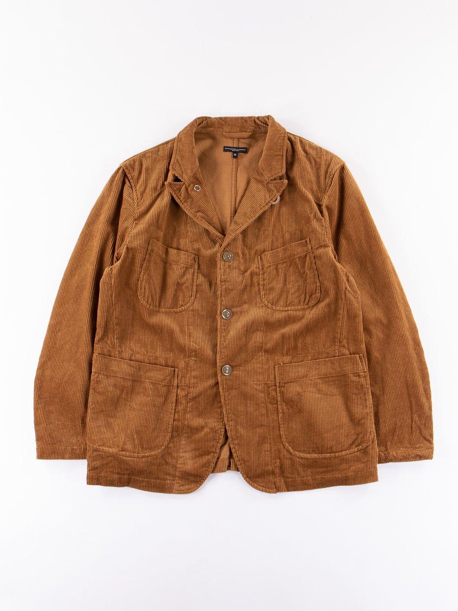 Chestnut 8W Corduroy Bedford Jacket