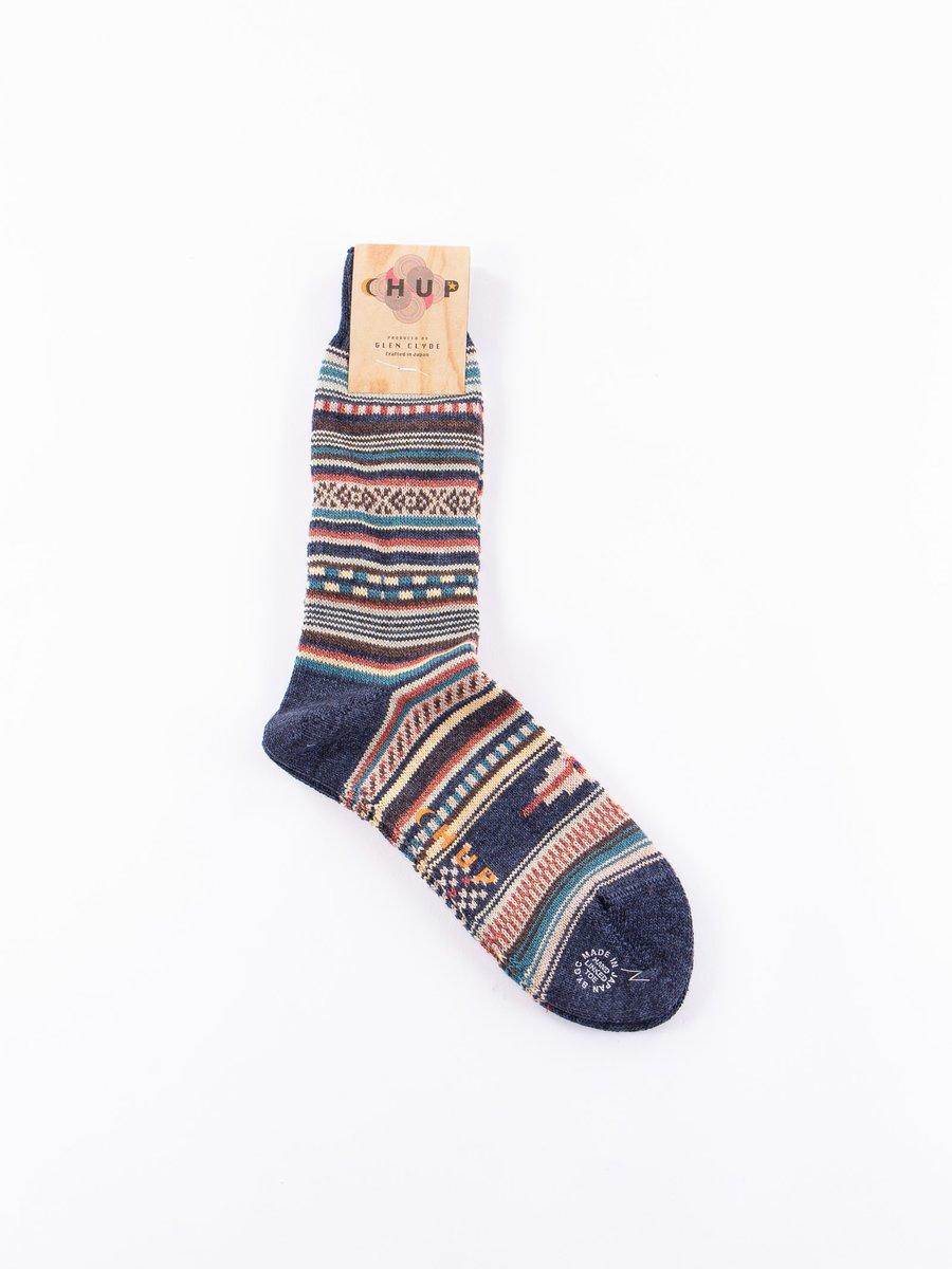 Indigo Rio Grande Socks