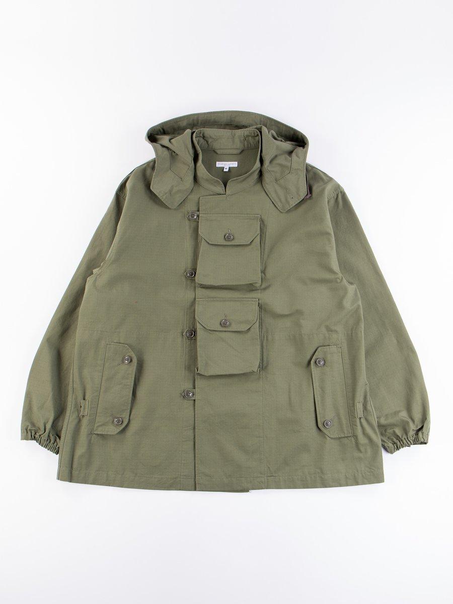 Olive Cotton Ripstop MT Jacket