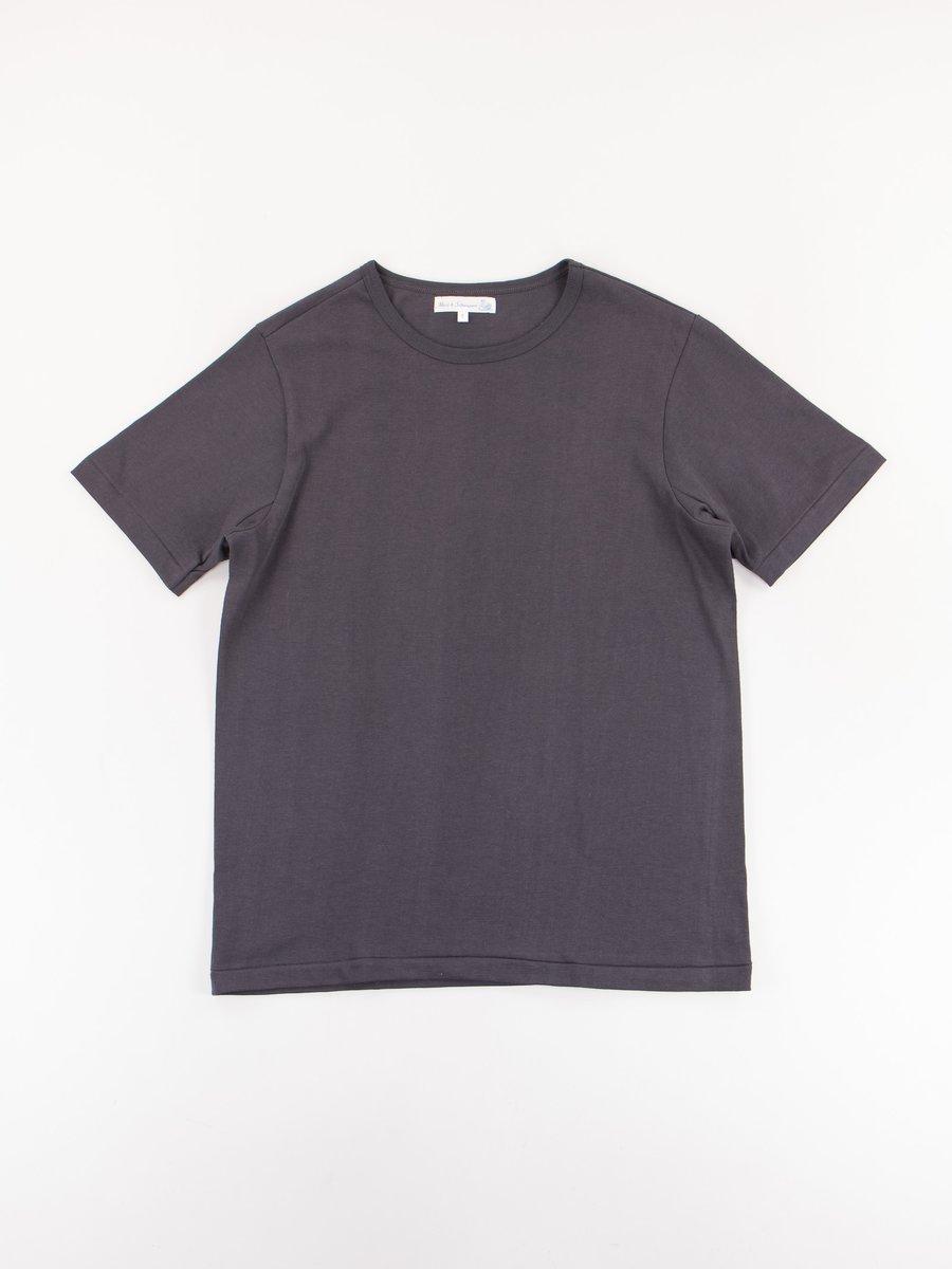 Charcoal 215 Organic Cotton Army Shirt