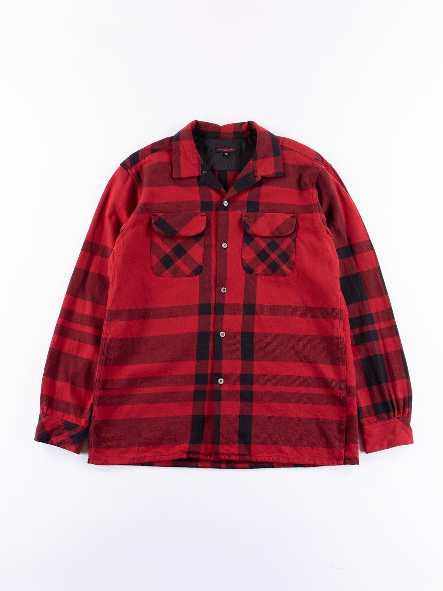Red/Black Big Plaid Classic Shirt