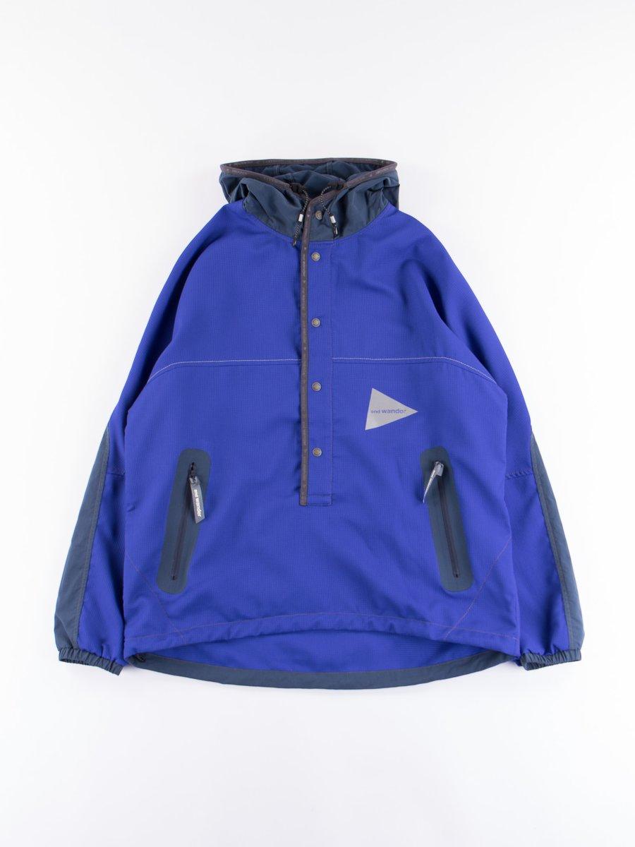 Blue Vent Hoodie