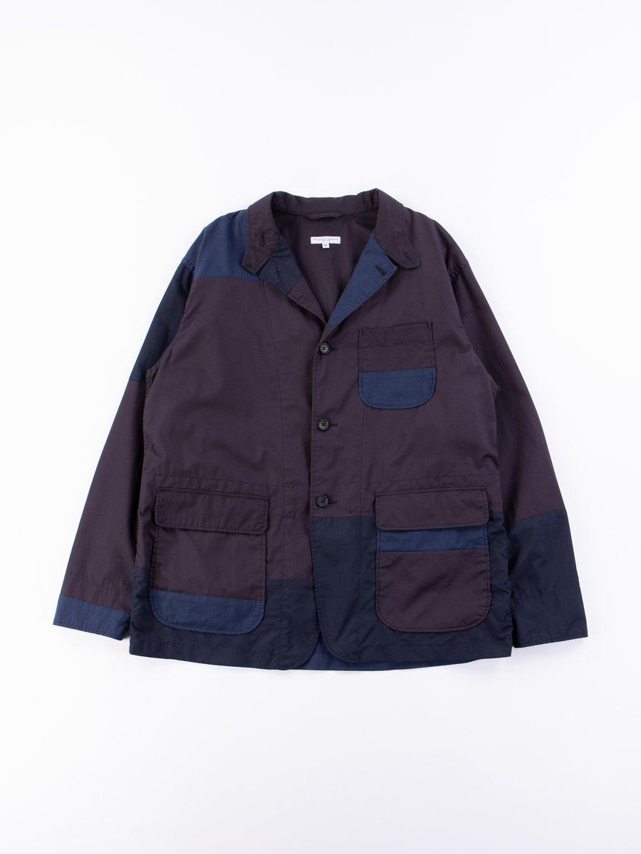 Dark Navy High Count Twill Loiter Jacket