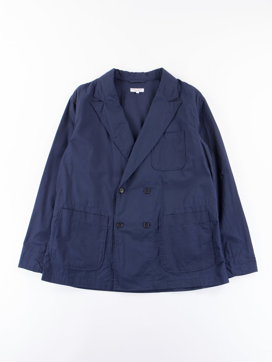 Dark Navy Malibu Poplin DL Jacket