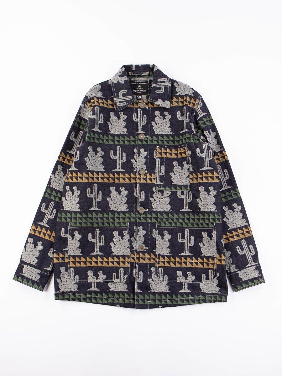Indigo/Natural/Army/Yellow Short Cactus Work Jacket