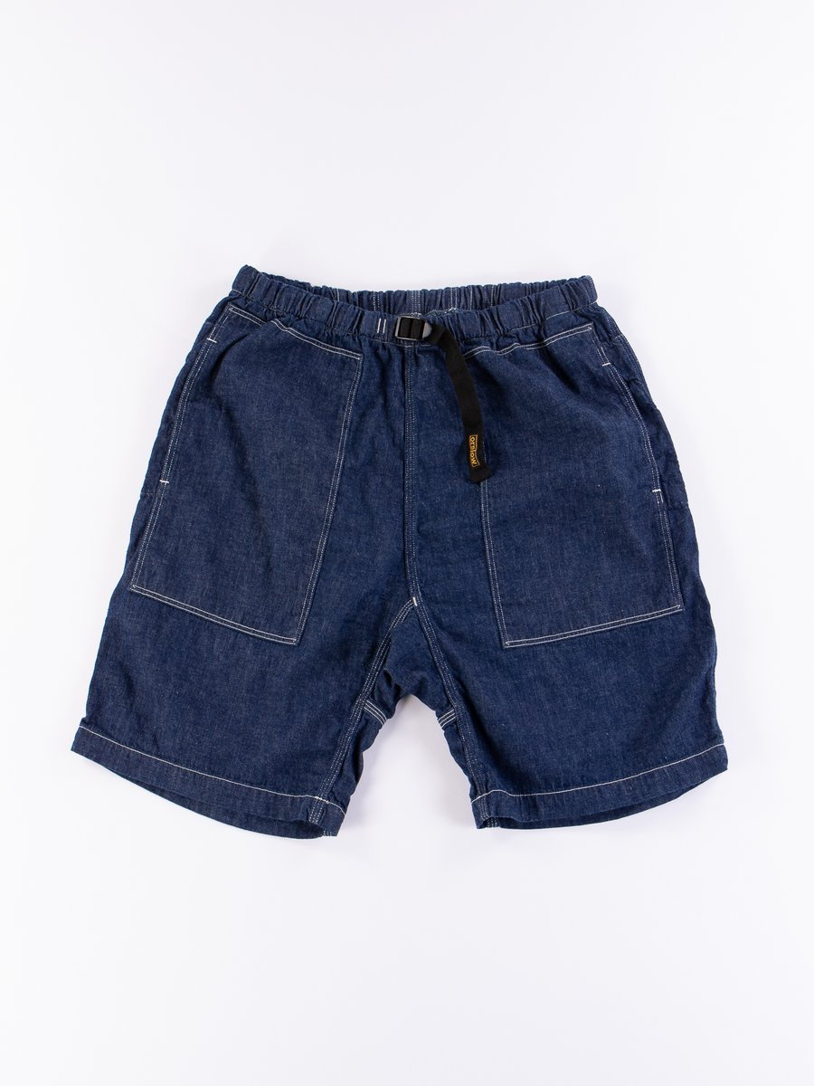 One Wash Denim Climbing Short