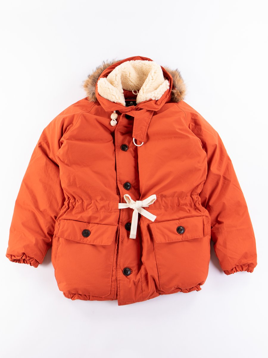 Vintage Orange Everest Parka