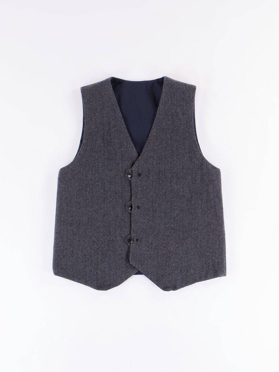 Charcoal Reversible Vest