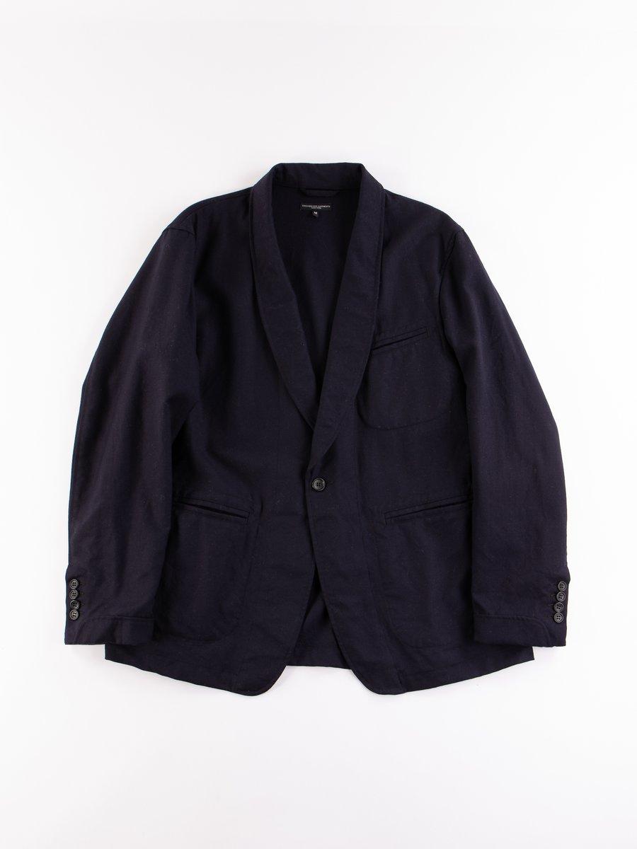 Dark Navy Wool Uniform Serge SD Jacket