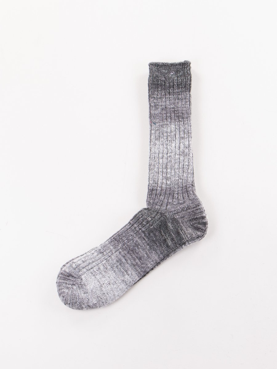 Grey Go Hemp Splash Pattern Socks
