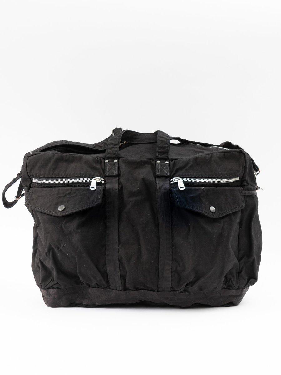 Crag 2Way Boston Bag Large Black