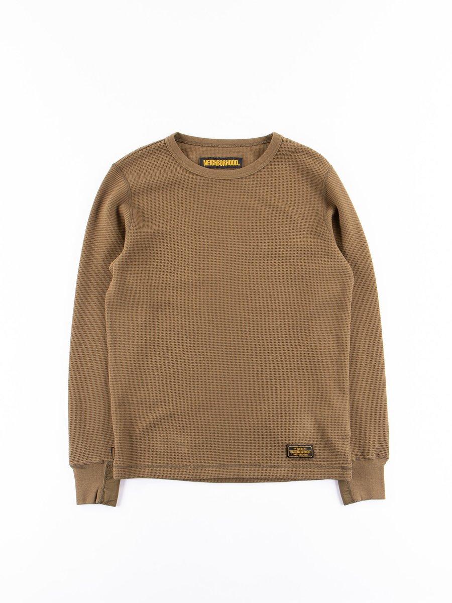 Olive Drab B–Waffle C–Crew Thermal Shirt