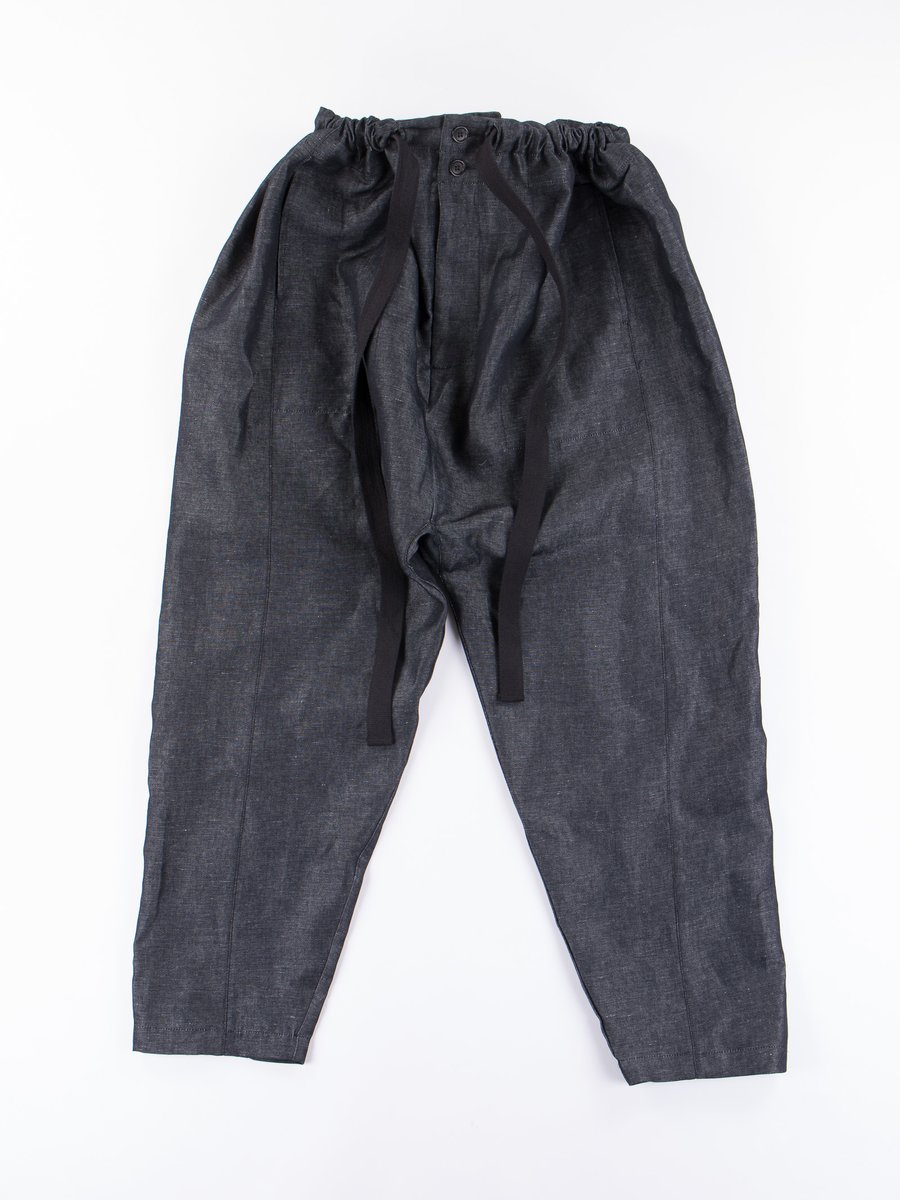 Dark Navy Shalwar Trousers
