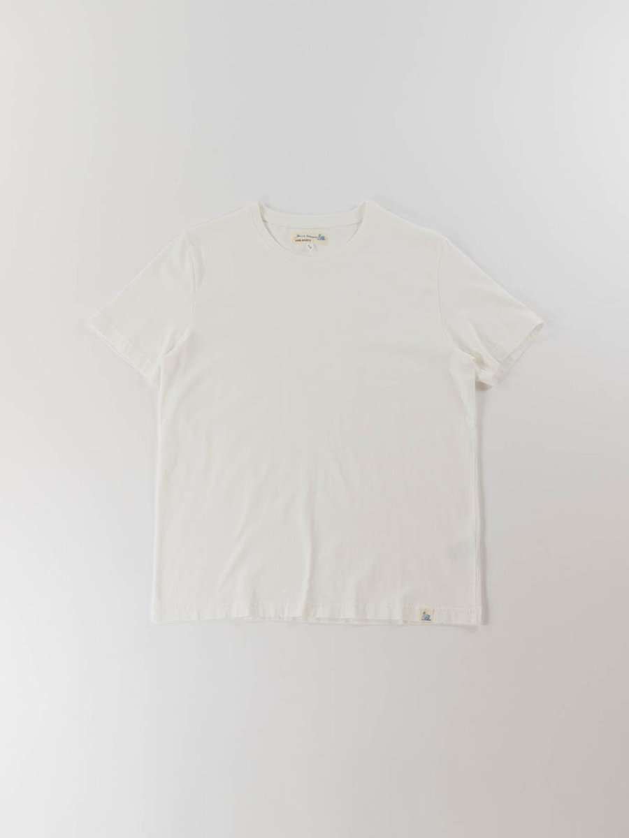 GOOD BASICS CREW NECK T–SHIRT WHITE