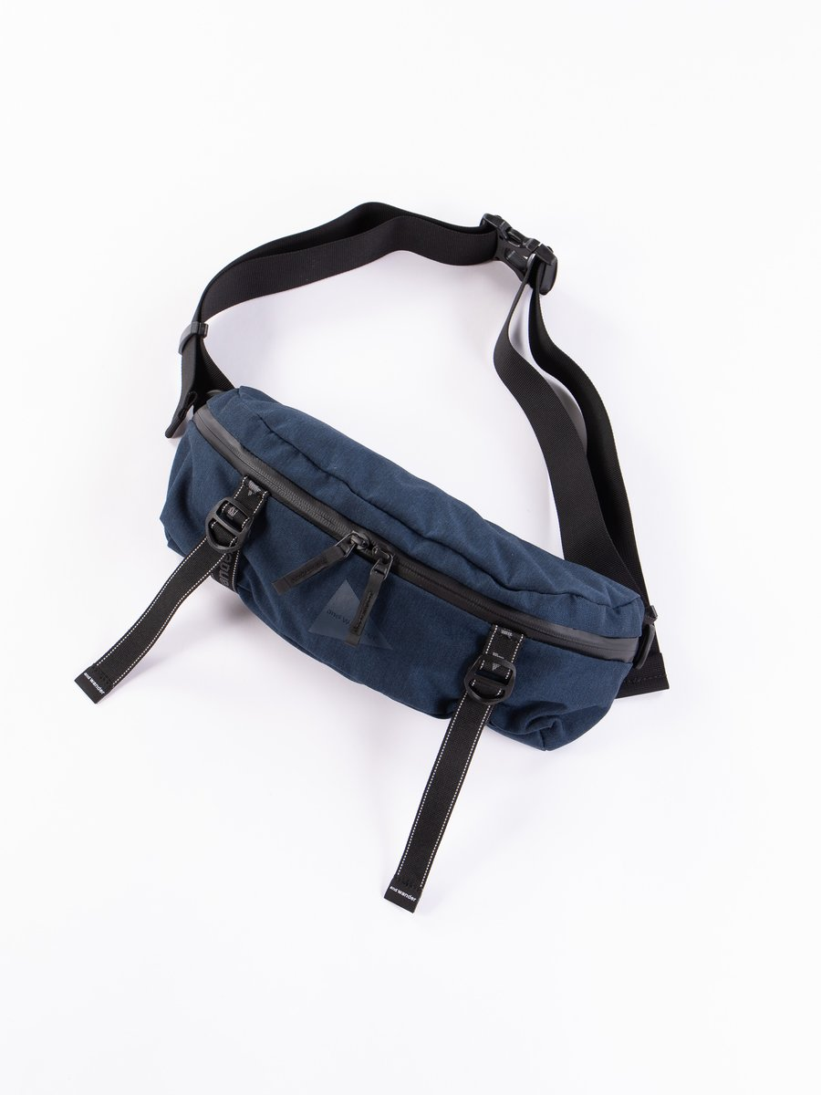 Navy Heather Waist Bag