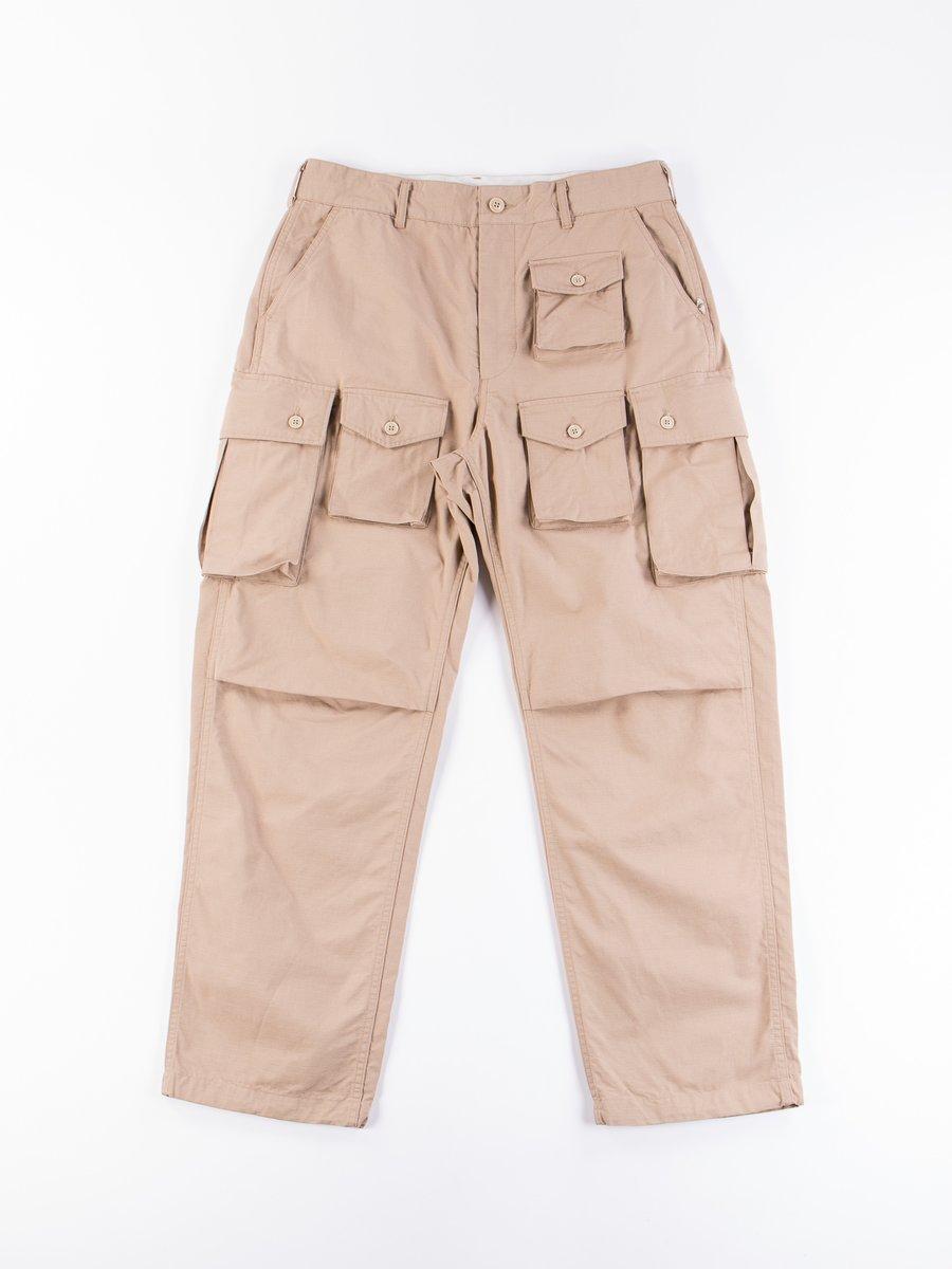 Khaki Cotton Ripstop FA Pant