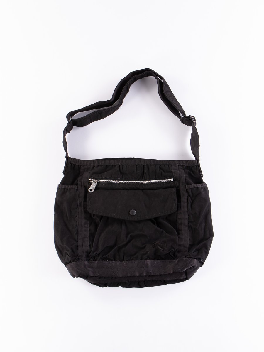 Black Crag Shoulder Bag Large