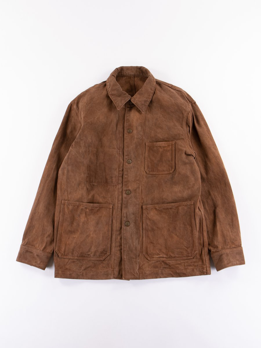 Brown Dorozome Coverall