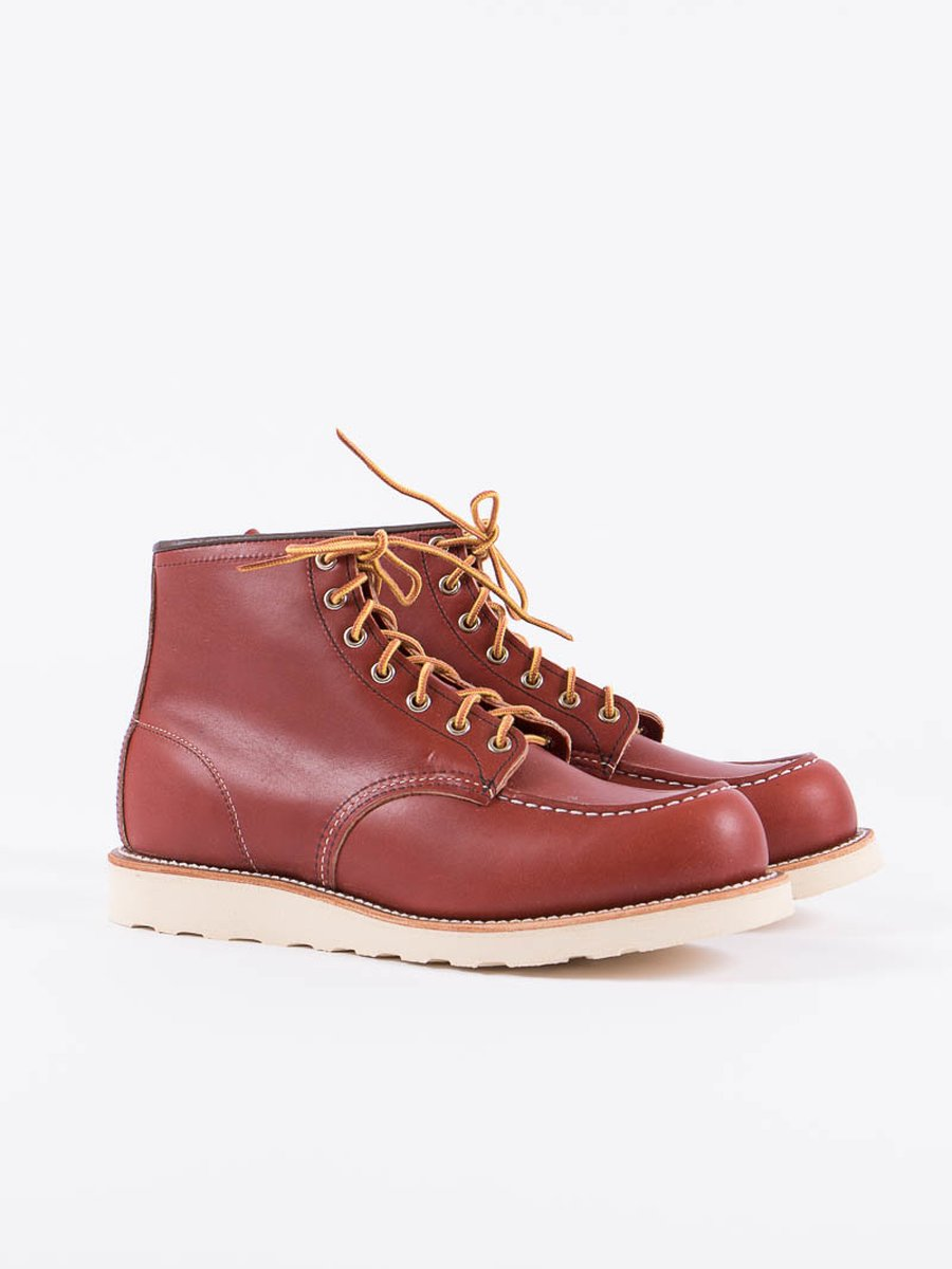 "Oro Russet Portage 8131 Heritage 6"" Moc Toe Boot"