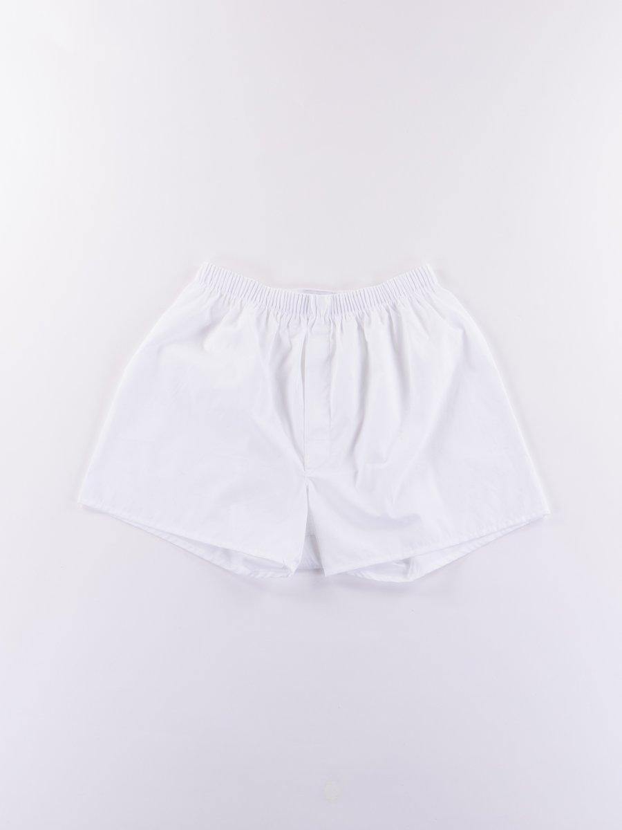 White Classic Boxer Short