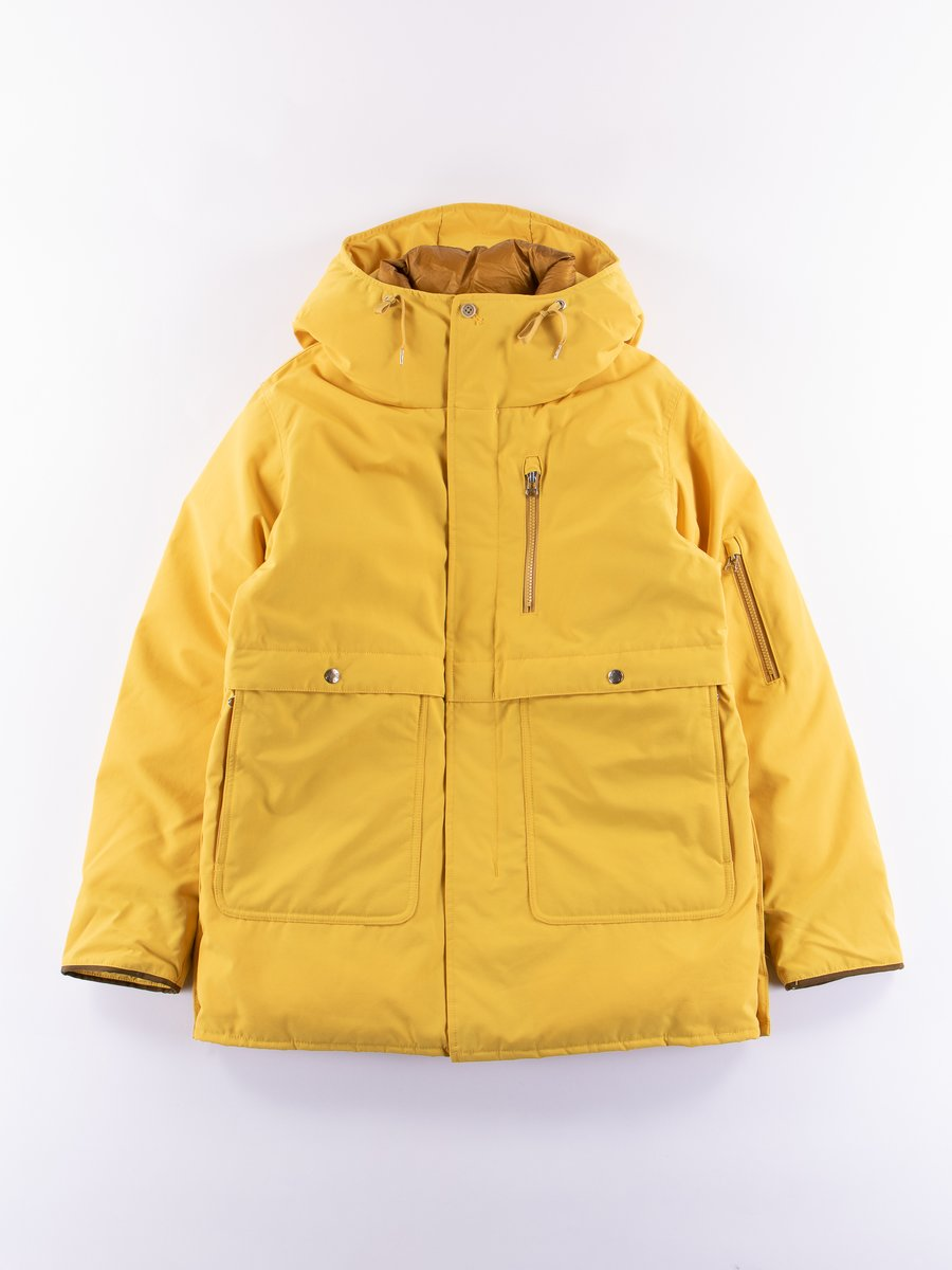 Yellow Down Coat