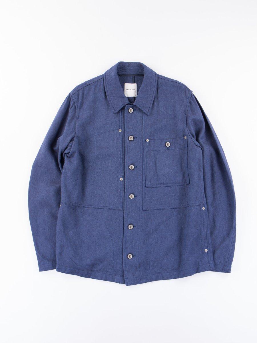 Blue Chore Jacket