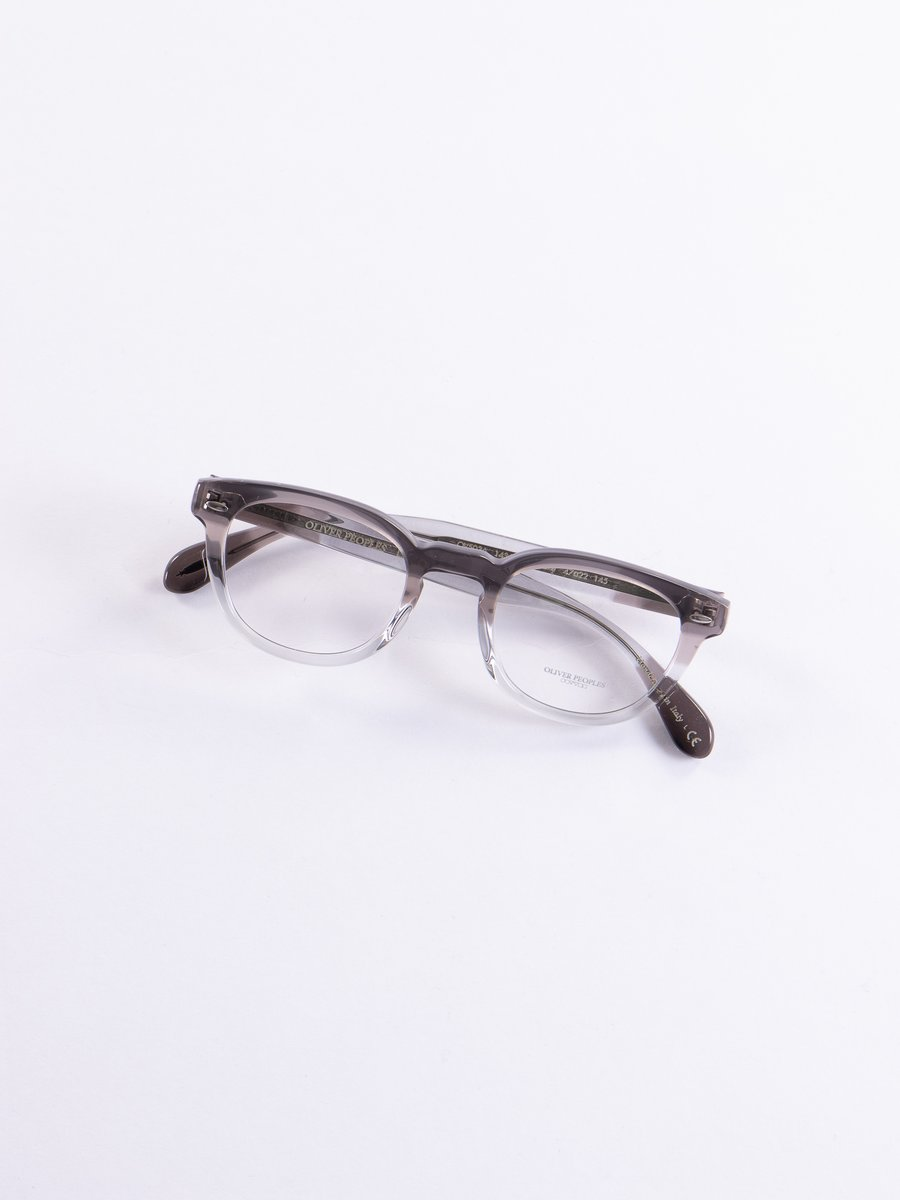 Vintage Grey Fade Sheldrake Optical Frame
