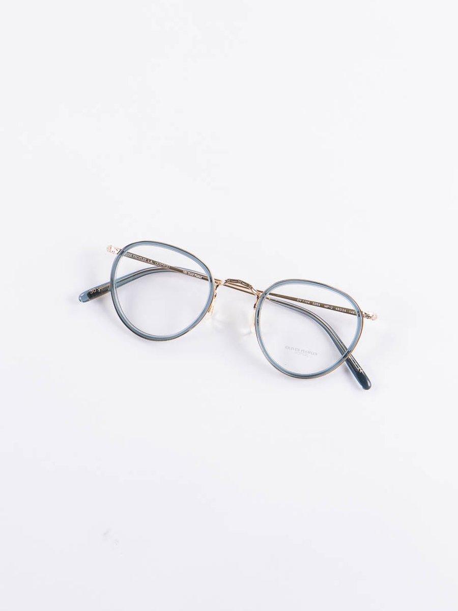 18k Gold/Washed Teal MP–2 Optical Frame