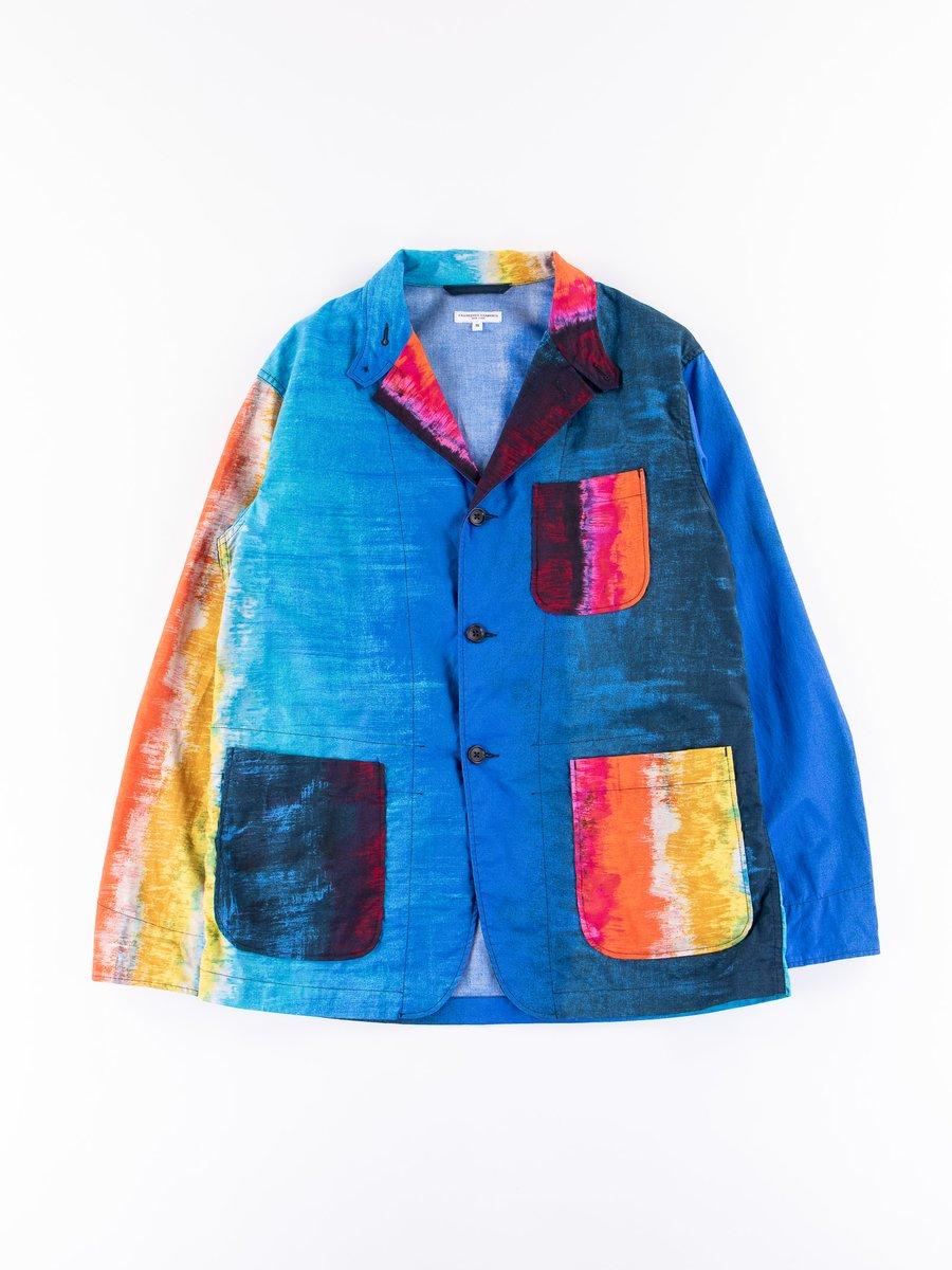 Multi Sunset Burst Loiter Jacket