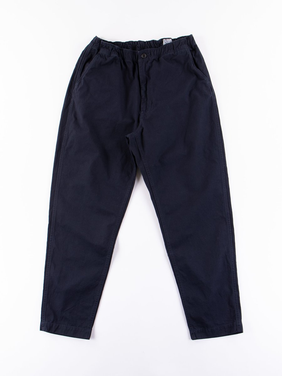 Navy Overdyed Ripstop New Yorker Pant
