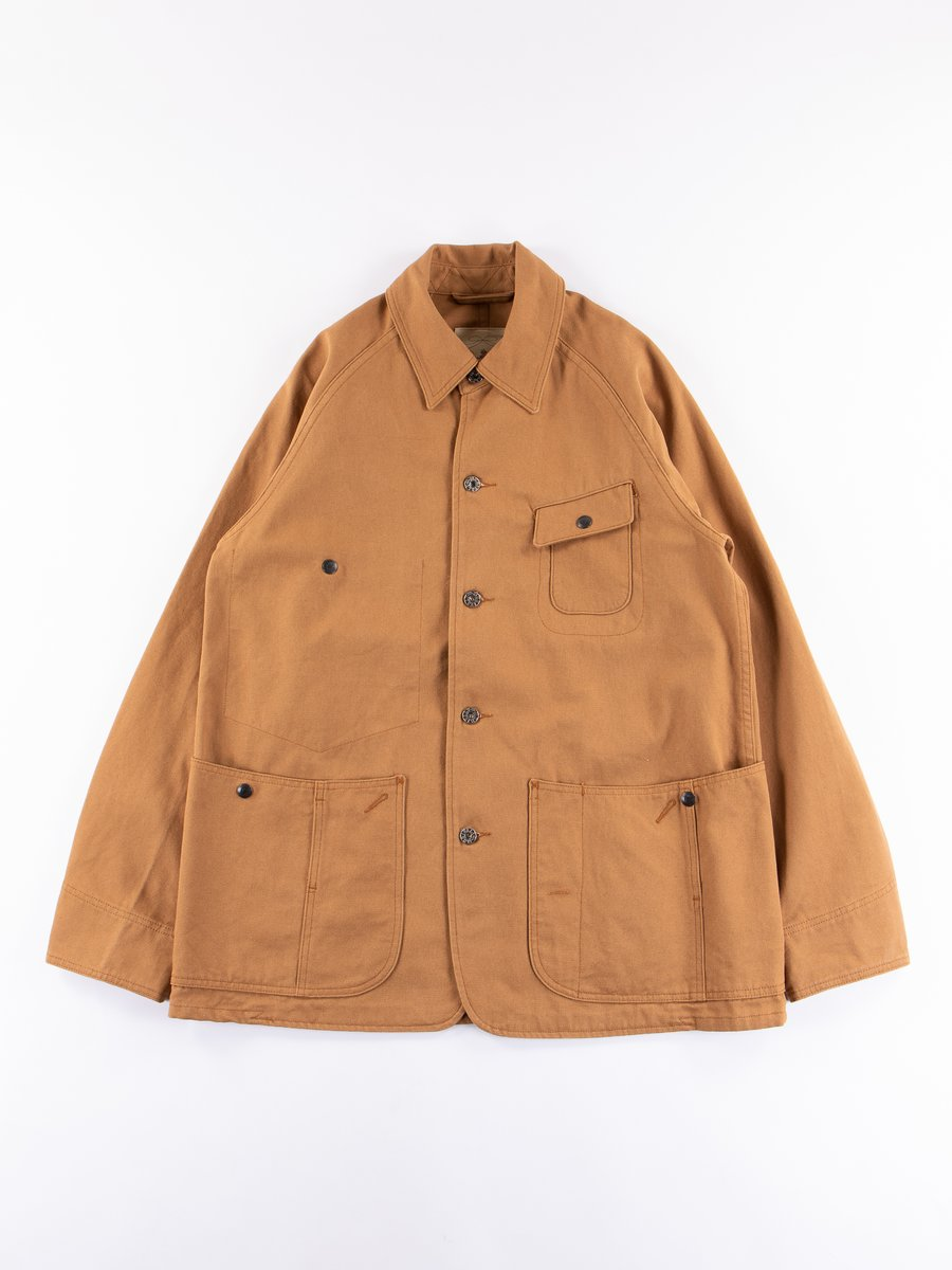 Brown Dock 12oz Gardening Jacket