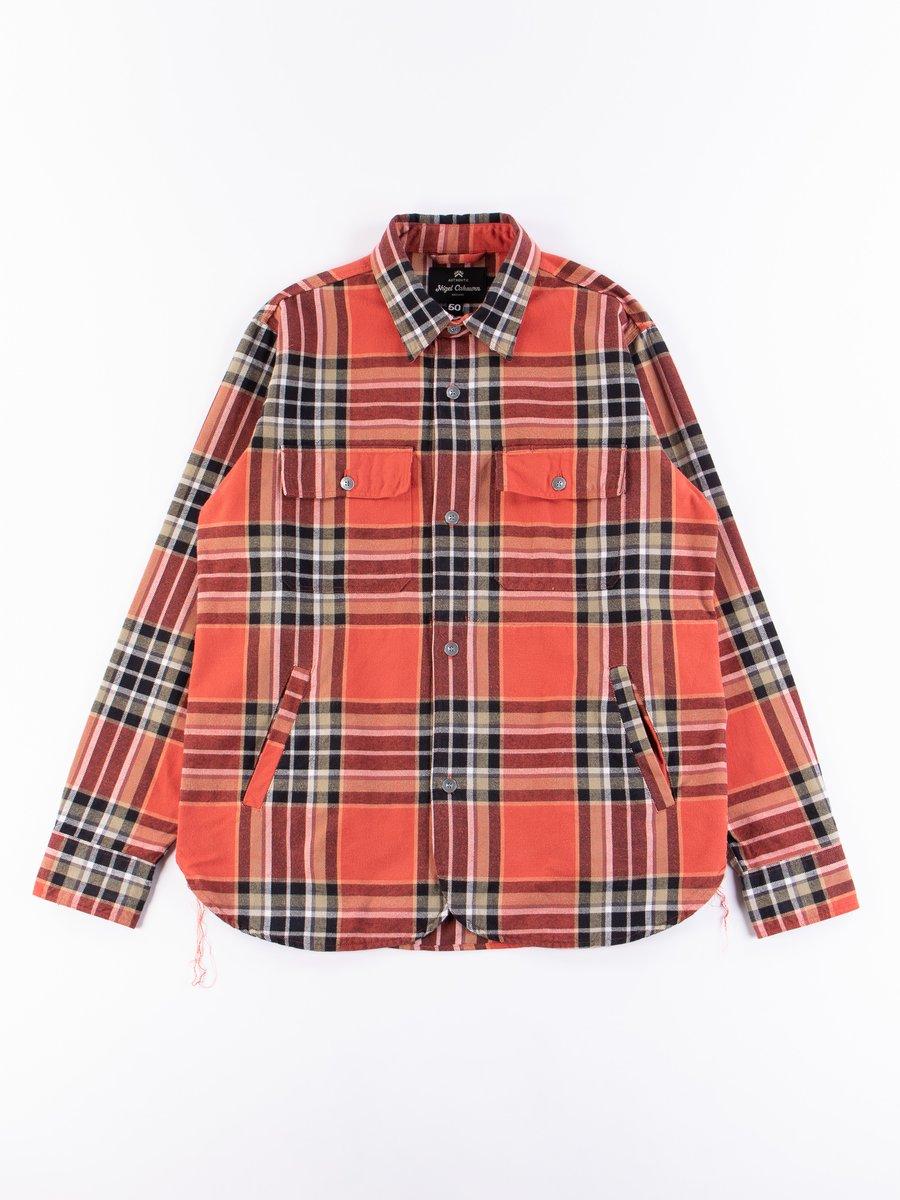 Red Check CPO Shirt