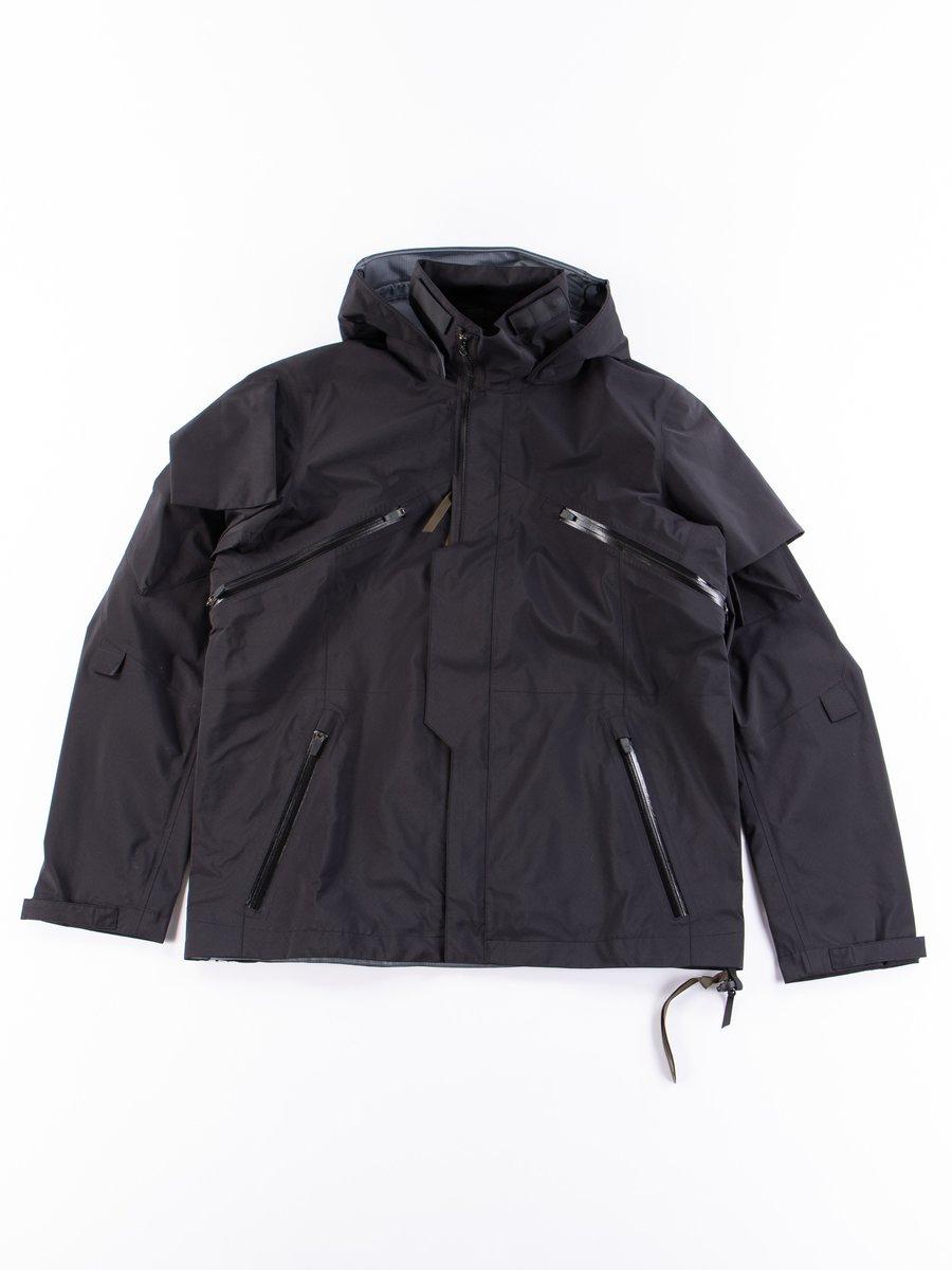 J1B–GT Black 3L Gore–Tex Pro Interops Jacket