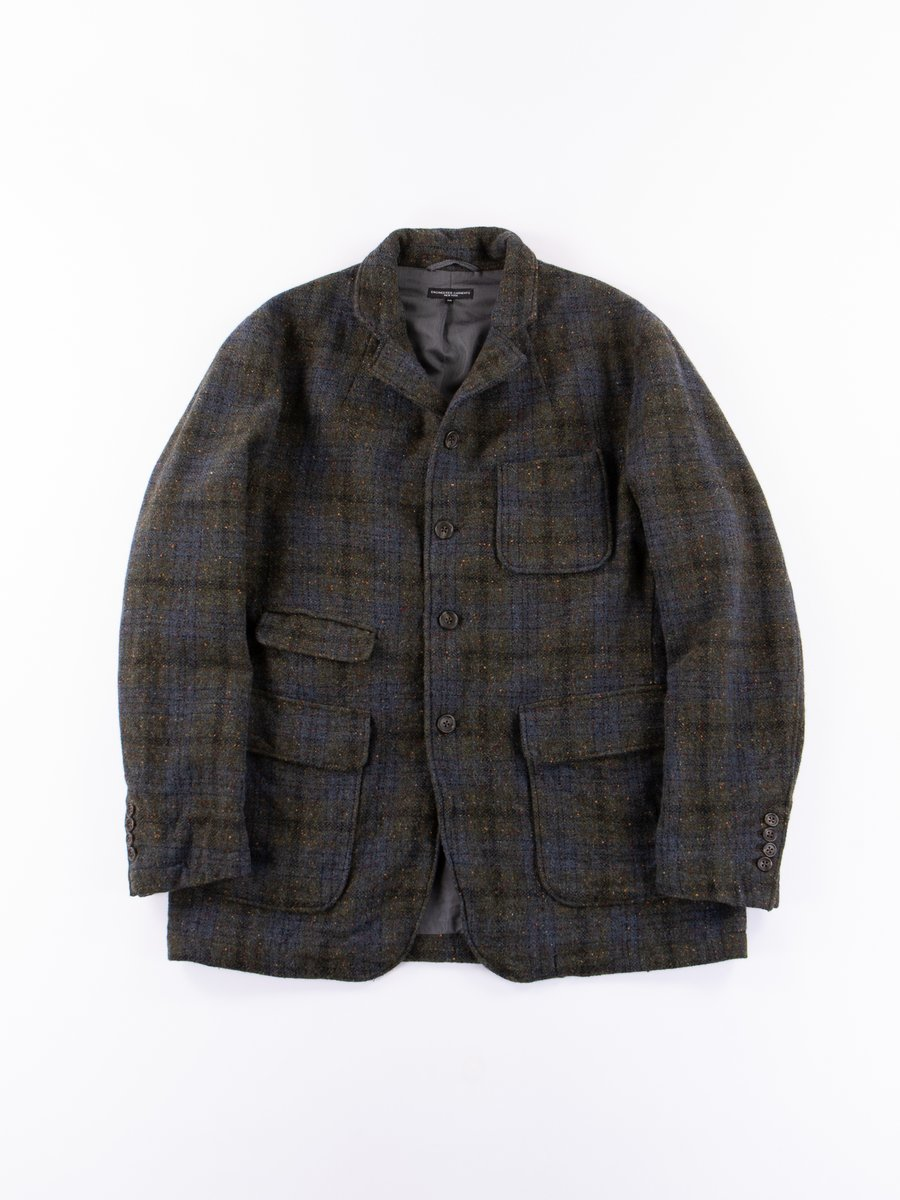 Green Check Tweed Landsdown Jacket