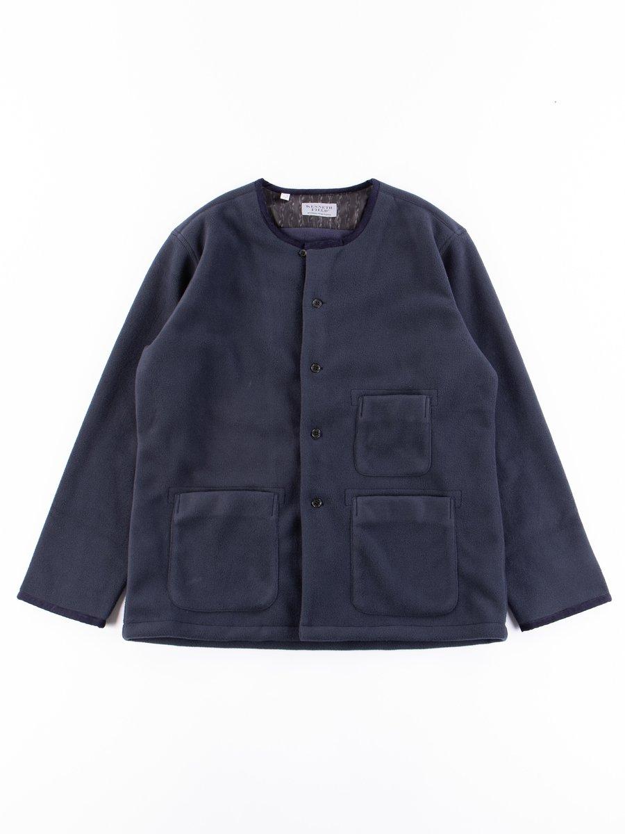 Navy Fleece EZ–JACIII Jacket Exclusive