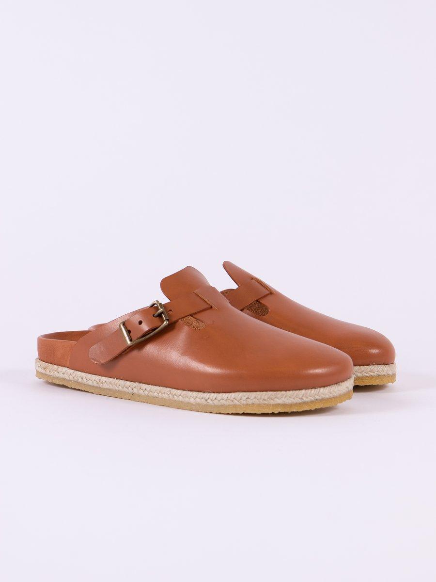 Brown Vaqueta Bostonian Sandal