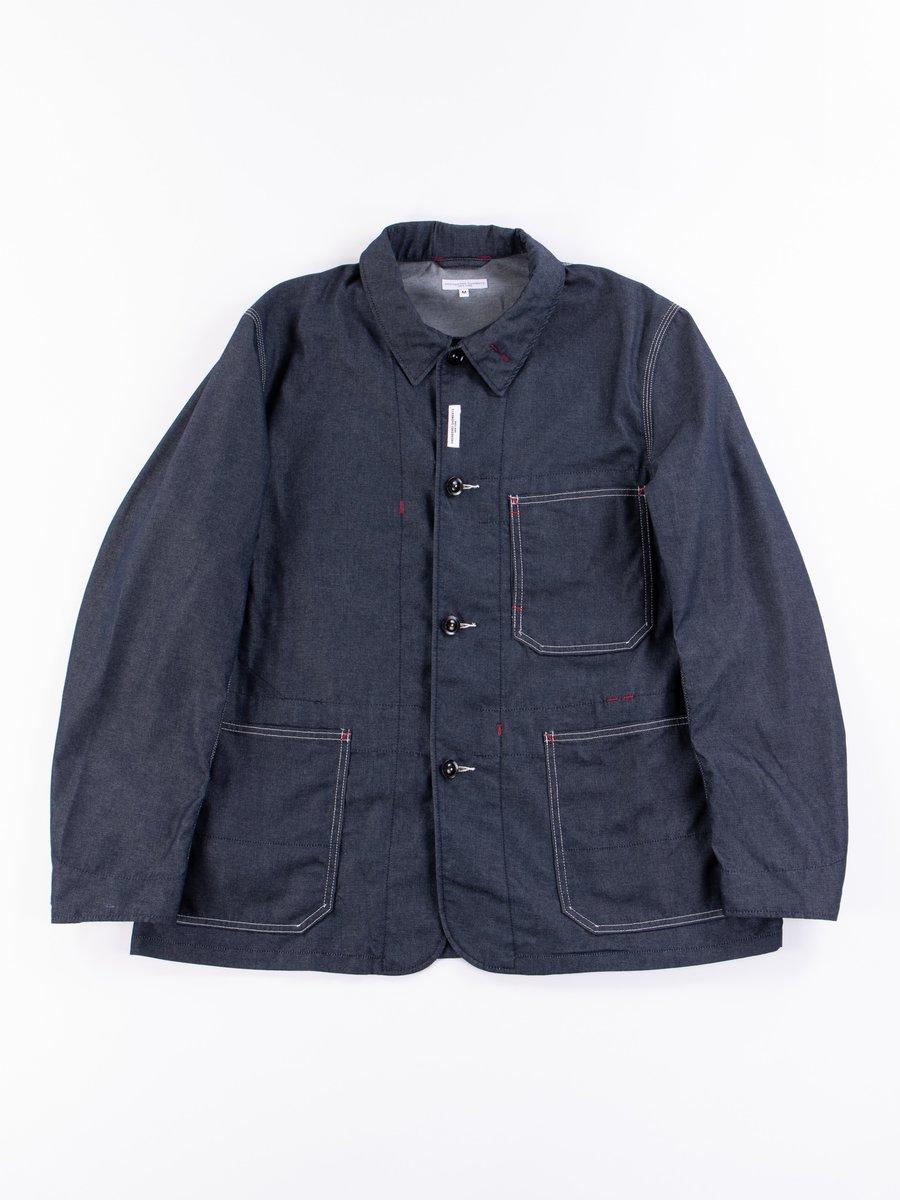 Indigo PC Denim Work Jacket