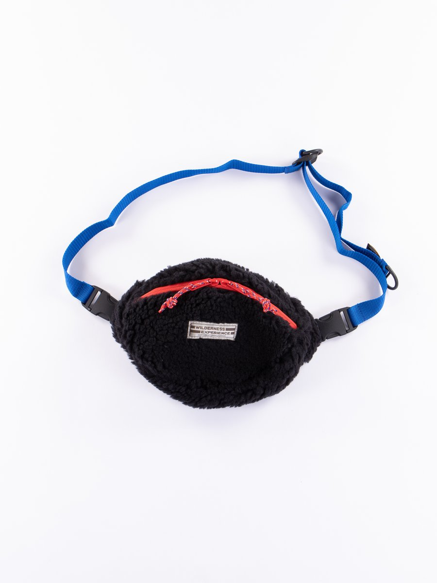 Black Teddy Waist Bag
