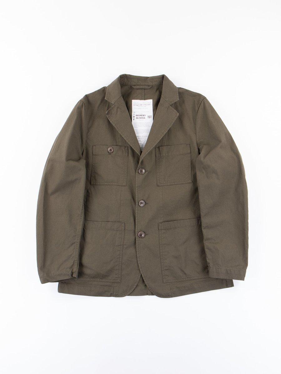 Olive Tricotine Follina Jacket