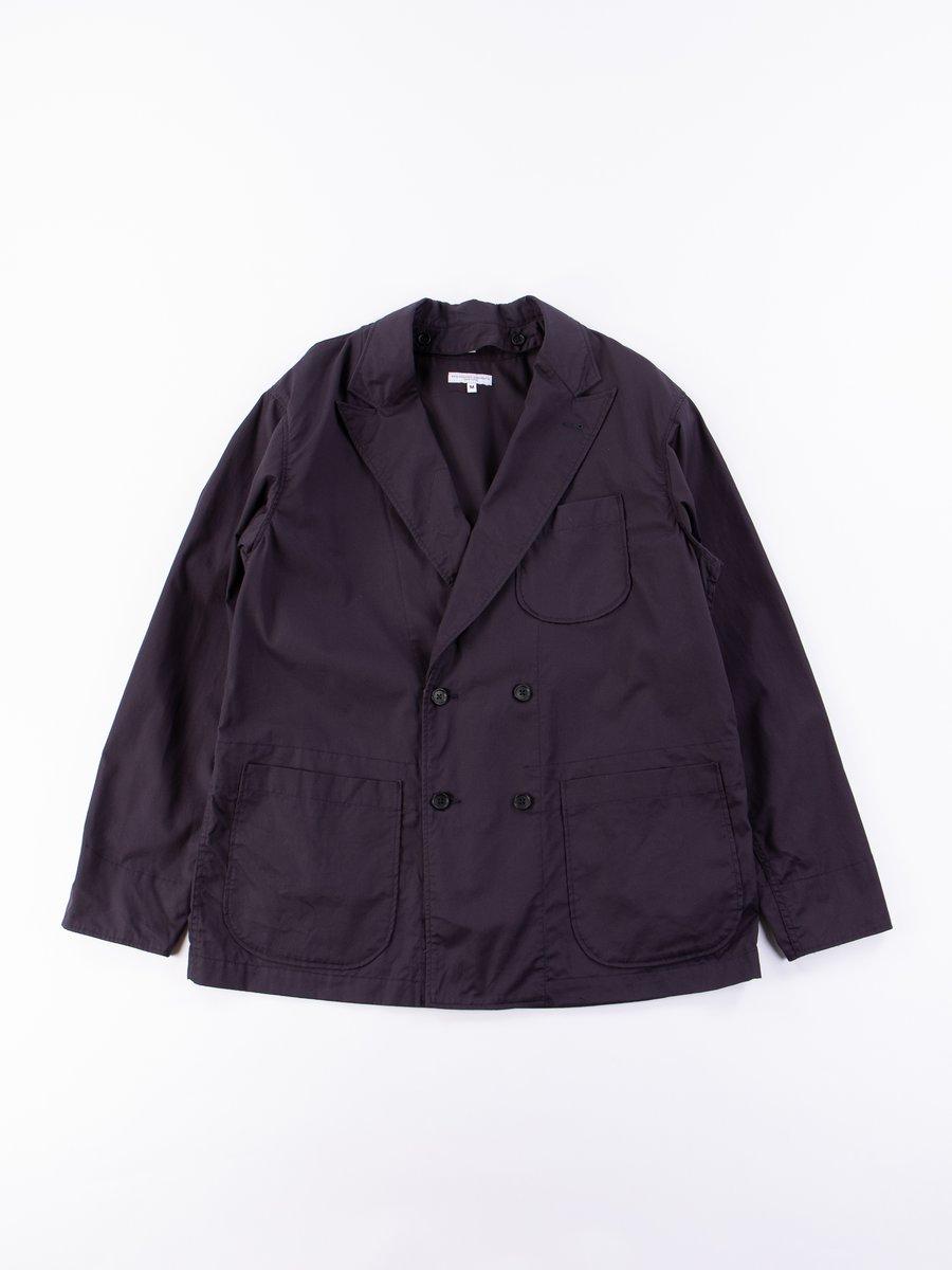 Dark Navy High Count Twill DLS Jacket